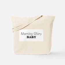Morning Glory baby Tote Bag