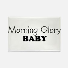Morning Glory baby Rectangle Magnet