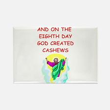 cashews Rectangle Magnet
