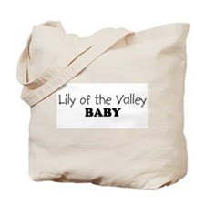 Lily of the Valley baby Tote Bag