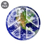 "Peace on Earth 3.5"" Button (10 pack)"