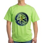 Peace on Earth Green T-Shirt