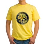 Peace on Earth Yellow T-Shirt