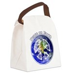 Peace on Earth II Canvas Lunch Bag