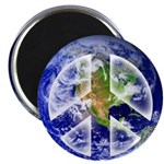"Peace on Earth II 2.25"" Magnet (10 pack)"