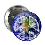 "Peace on Earth II 2.25"" Button (100 pack)"