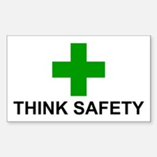 THINK SAFETY - Decal