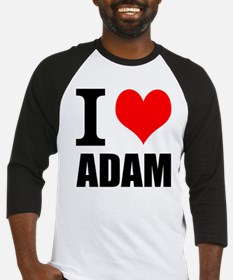 I Heart Adam Baseball Jersey
