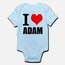 I Heart Adam Infant Bodysuit