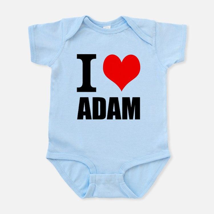 I Heart Adam Infant Bodysuit