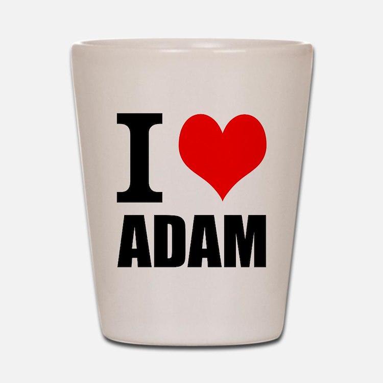 I Heart Adam Shot Glass