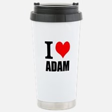 I Heart Adam Stainless Steel Travel Mug