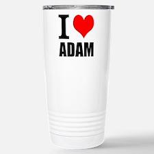 I Heart Adam Travel Mug
