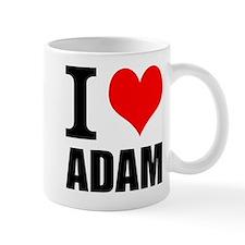 I Heart Adam Small Mug