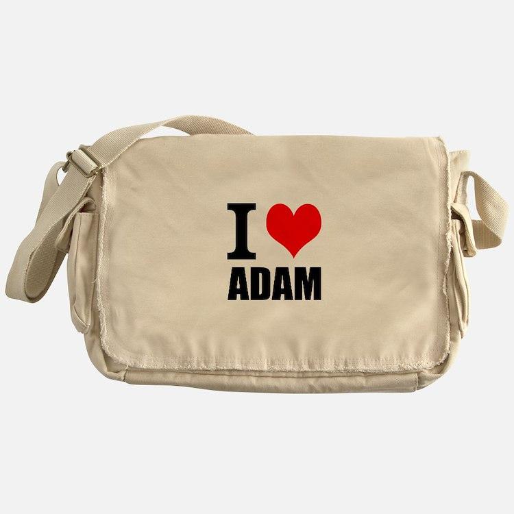 I Heart Adam Messenger Bag