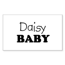 Daisy baby Rectangle Decal