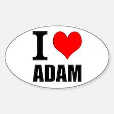 I Heart Adam Decal