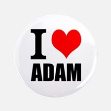 """I Heart Adam 3.5"""" Button (100 pack)"""