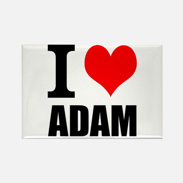 I Heart Adam Rectangle Magnet