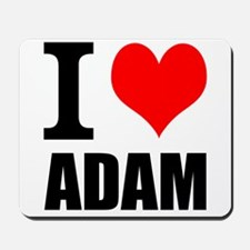 I Heart Adam Mousepad