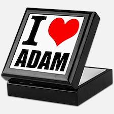 I Heart Adam Keepsake Box