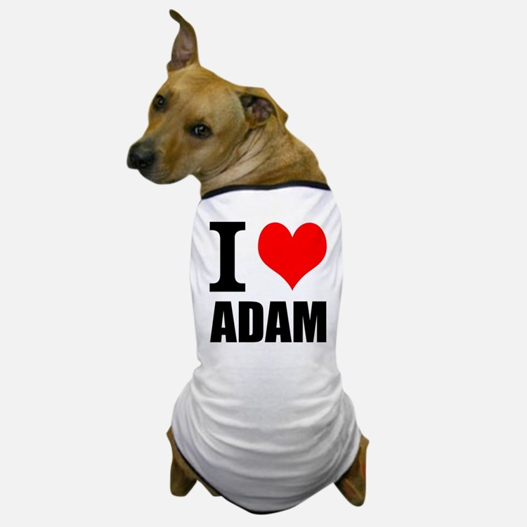 I Heart Adam Dog T-Shirt