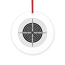 Target Ornament (Round)