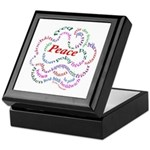 Fred-is-Peace Keepsake Box