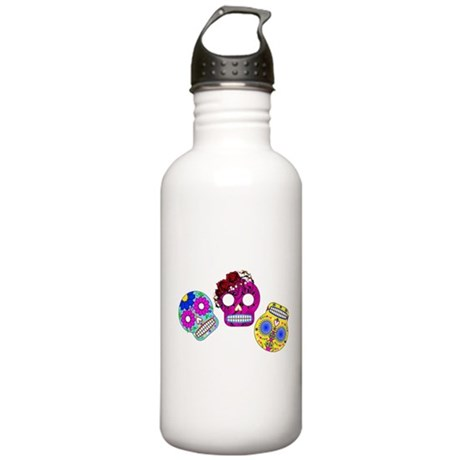 Roly Polly Skulls Stainless Water Bottle 1.0L