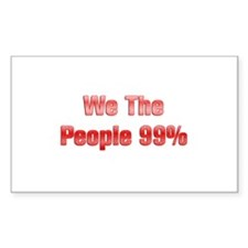 We The People 99% Decal