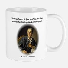 Diderot-Man Will Never Be Fre Mug