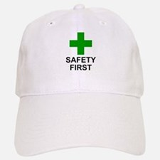 SAFETY FIRST - Baseball Baseball Cap