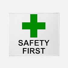 SAFETY FIRST - Throw Blanket