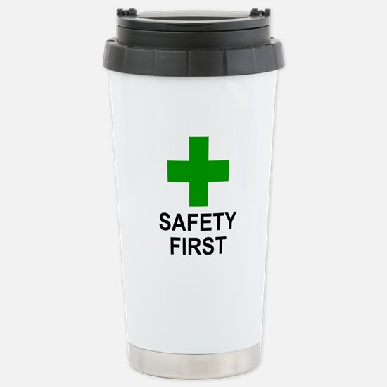 SAFETY FIRST - Stainless Steel Travel Mug