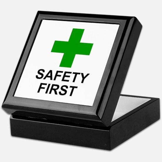 SAFETY FIRST - Keepsake Box