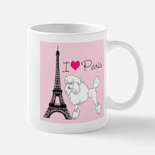 Paris Poodle Mug