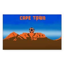 Cape Town Soccer Decal