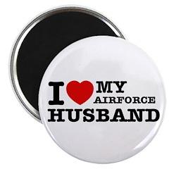 I love my Airforce Husband Magnet