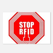 Say NO to RFID Postcards (Package of 8)