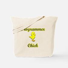 Programmer Chick Tote Bag