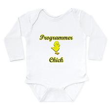 Programmer Chick Long Sleeve Infant Bodysuit