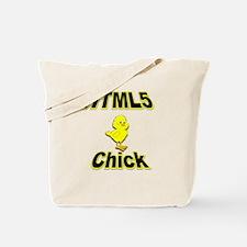 HTML5 Chick Tote Bag
