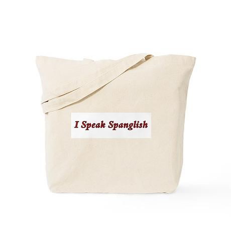 Spanglish Tote Bag