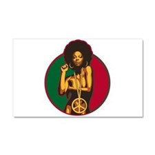 Power to the People Car Magnet 20 x 12