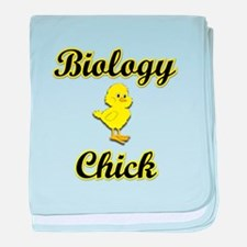 Biology Chick baby blanket