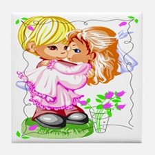 Young Love Tile Coaster