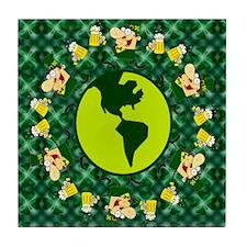 Irish Beer Fun Tile Coaster