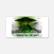 chariot of the gods Aluminum License Plate