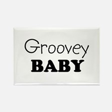 Groovey baby Rectangle Magnet