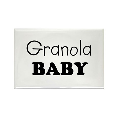 Granola baby Rectangle Magnet